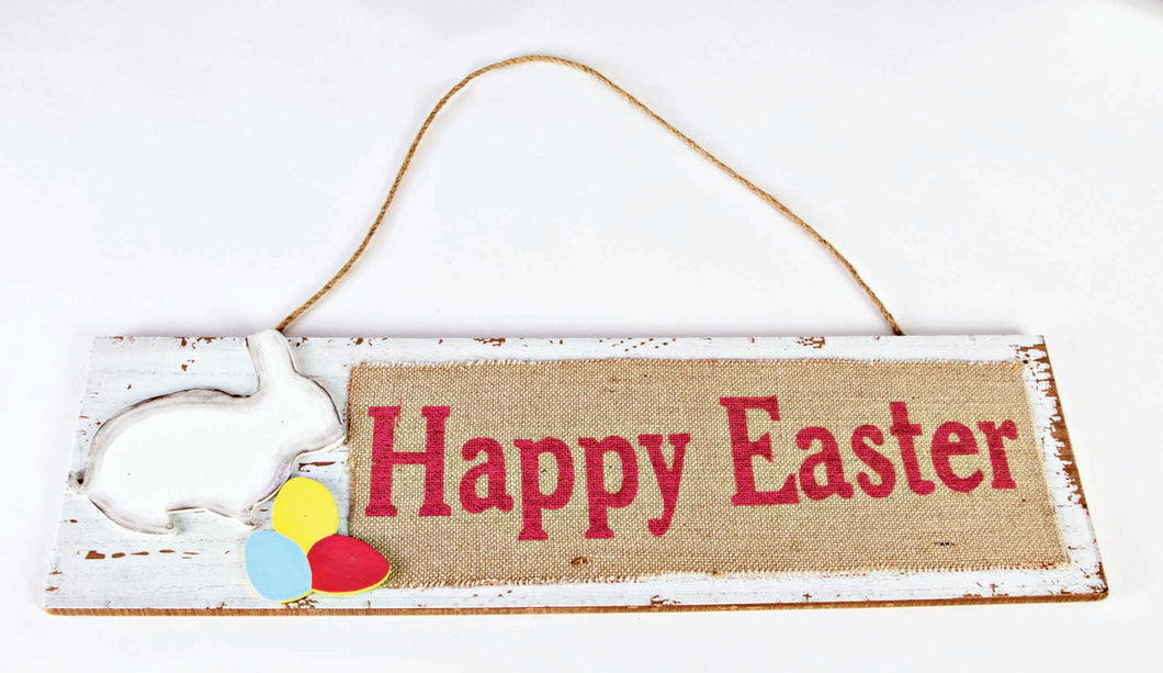 """Happy Easter"" Plaque Easter Decoration"
