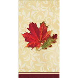 "Fall Leaves Hand Guest Towels, 8"" x 4"""