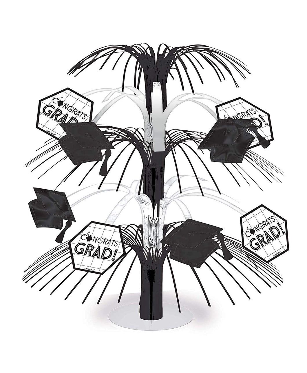 Grid Graduation Cascade Centerpiece – 1 Piece