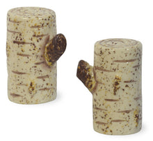 Load image into Gallery viewer, Birch Salt & Pepper Shaker Set