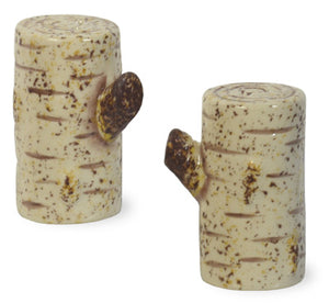 Birch Salt & Pepper Shaker Set
