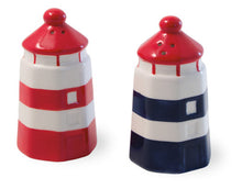 Load image into Gallery viewer, Anchors Away Ceramic Salt & Pepper Shaker Set