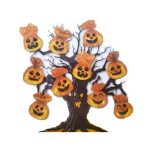 Load image into Gallery viewer, Halloween Pumpkin Tree Decorations Plastic Bags – 10 Pack
