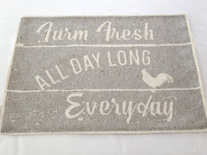 Farm Fresh Tapestry Place Mats 13 in x 19 in – Set of 4