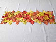 "Load image into Gallery viewer, Harvest Leaves Table Runner 12"" x 36"" - 1 Piece"