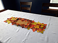 "Load image into Gallery viewer, Fall Leaves Plastic Tray, 10"" x 14"" - 1 Piece"