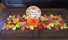 "Load image into Gallery viewer, Harvest Happy Thanksgiving 10"" Honeycomb Centerpiece - 1 Piece"