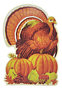 Harvest Time Turkey Cutout Set