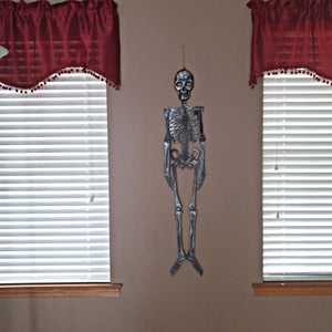 Gray Finish Skeleton Decor 46 inches – 1 Piece