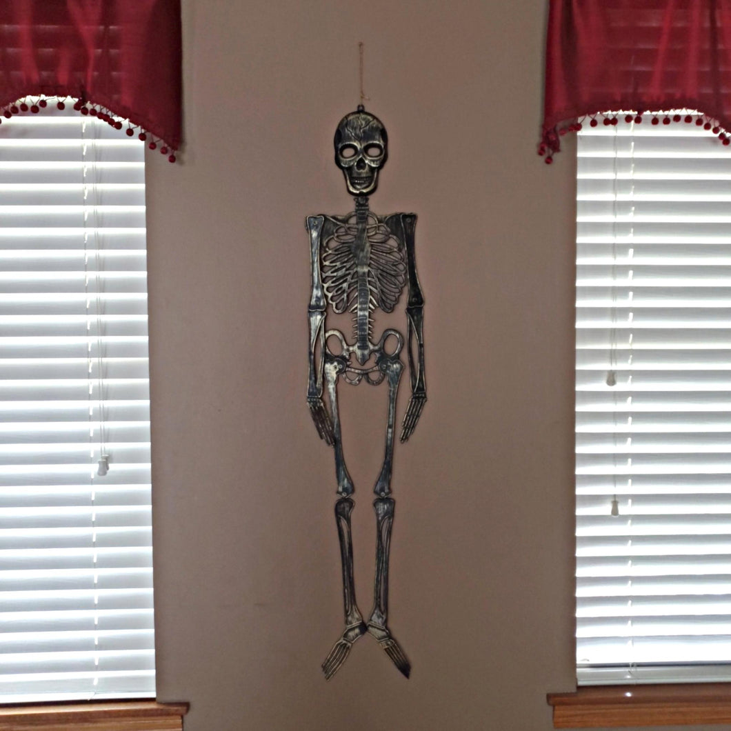 Olive Finish Skeleton Decor 46 inches – 1 Piece