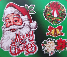 Load image into Gallery viewer, Christmas Printed Cardstock Cutouts Decoration