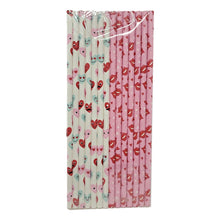 Load image into Gallery viewer, Valentine's Day 14 Count Pink and White Paper Straws Assorted – 2 Pack