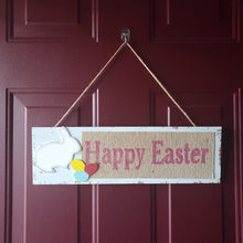 "Load image into Gallery viewer, ""Happy Easter"" Plaque Easter Decoration"