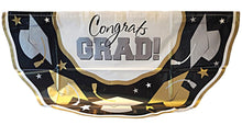 Load image into Gallery viewer, Congrats GRAD! Graduation Bunting 11 ft long - 1 pc