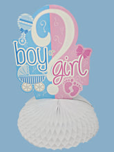 Load image into Gallery viewer, Gender Reveal Is it a boy or girl? 10-piece decorating kit