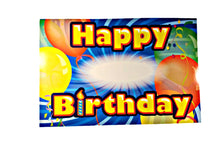 Load image into Gallery viewer, Custom Stick On Birthday Decorating Set