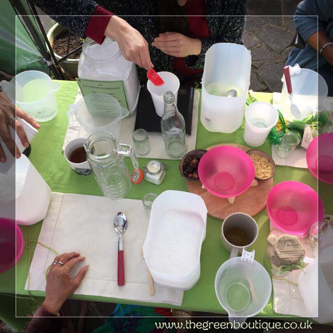 MAKE YOUR OWN NATURAL, ZERO WASTE CLEANING PRODUCTS WORKSHOP