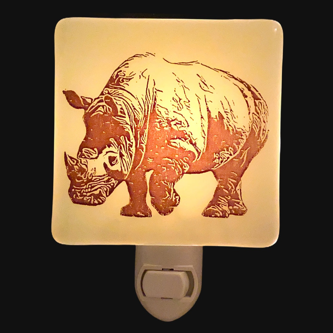Rhinoceros Night Light