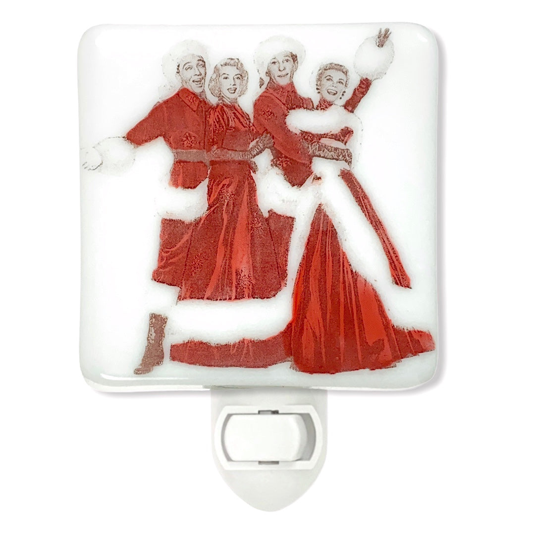 White Christmas Night Light, Bing Crosby, Danny Kaye