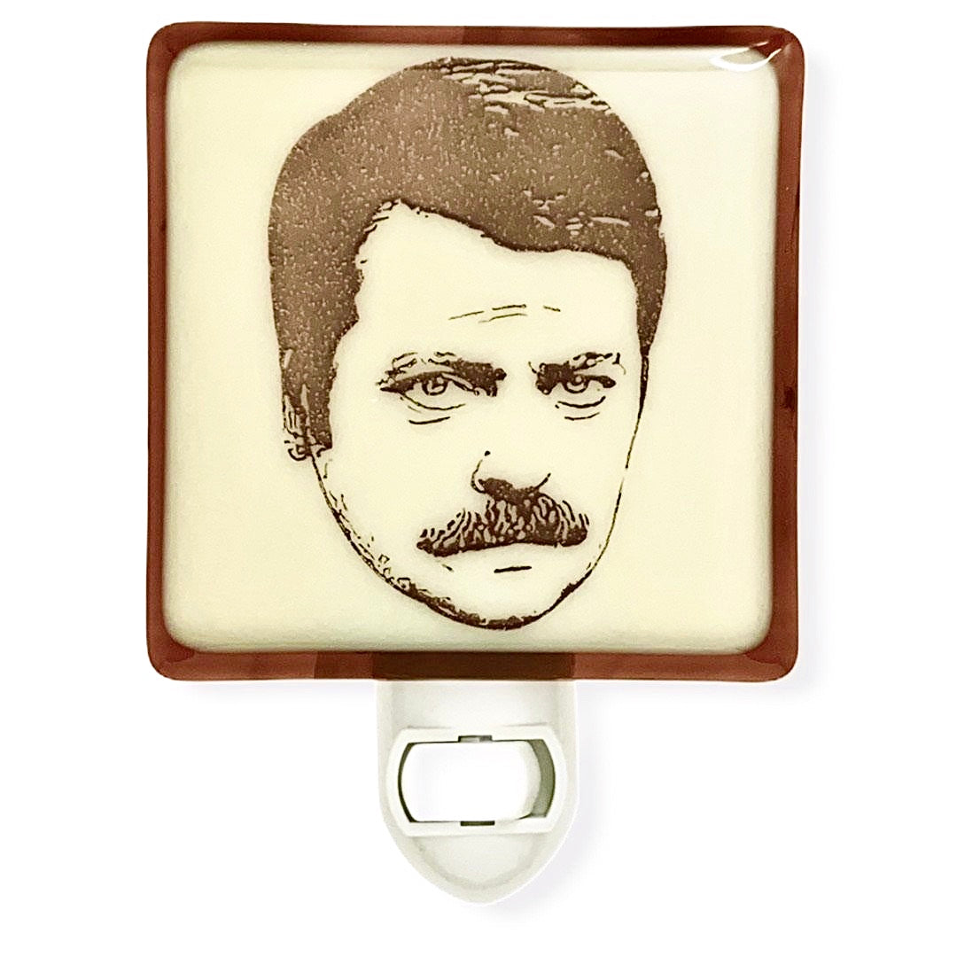 Parks and Recreation - Ron Swanson Night Light