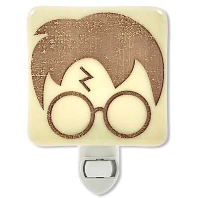 Harry Potter Graphic Night Light - Ivory Glass