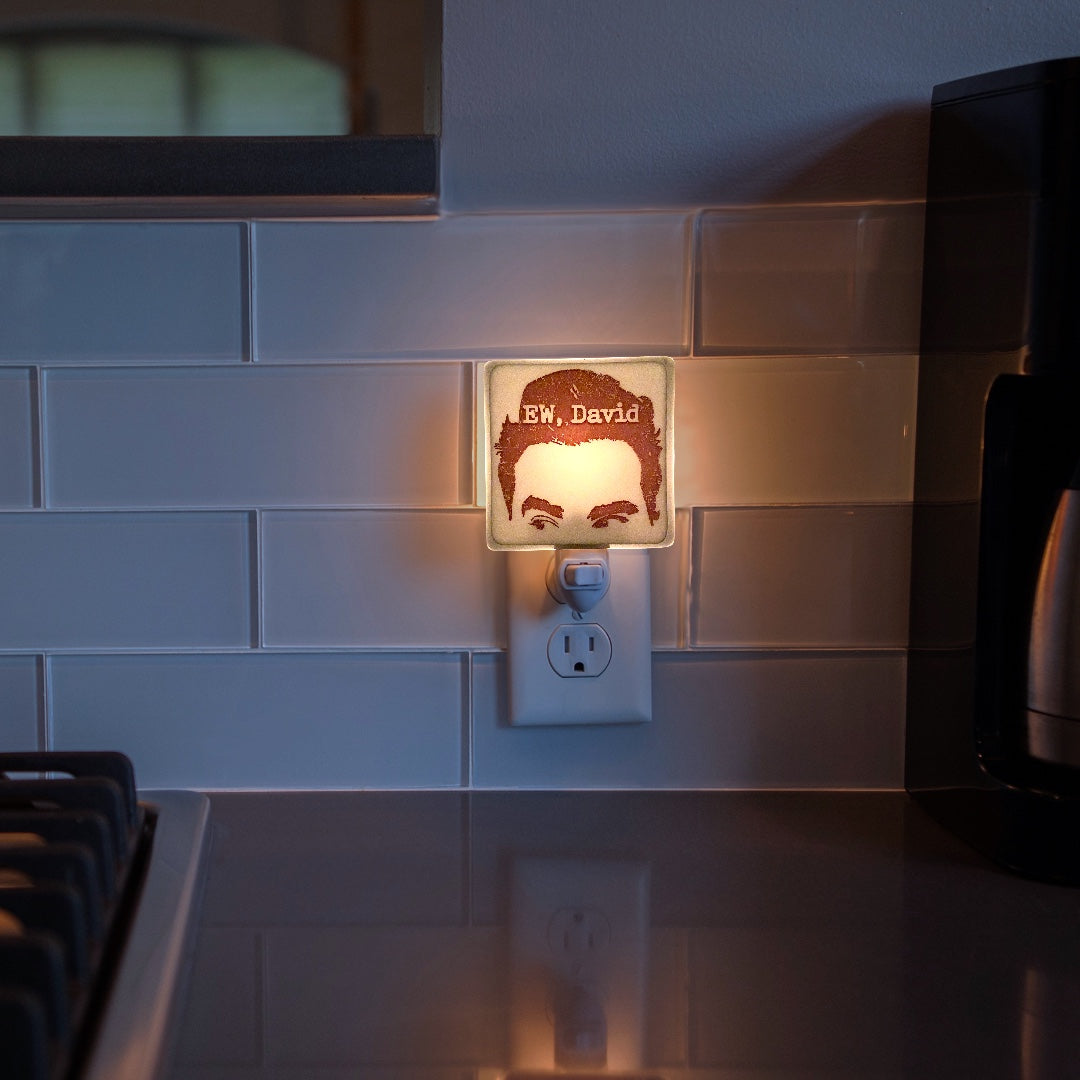 "Schitt's Creek - David Rose  ""EW, David"" Night Light"