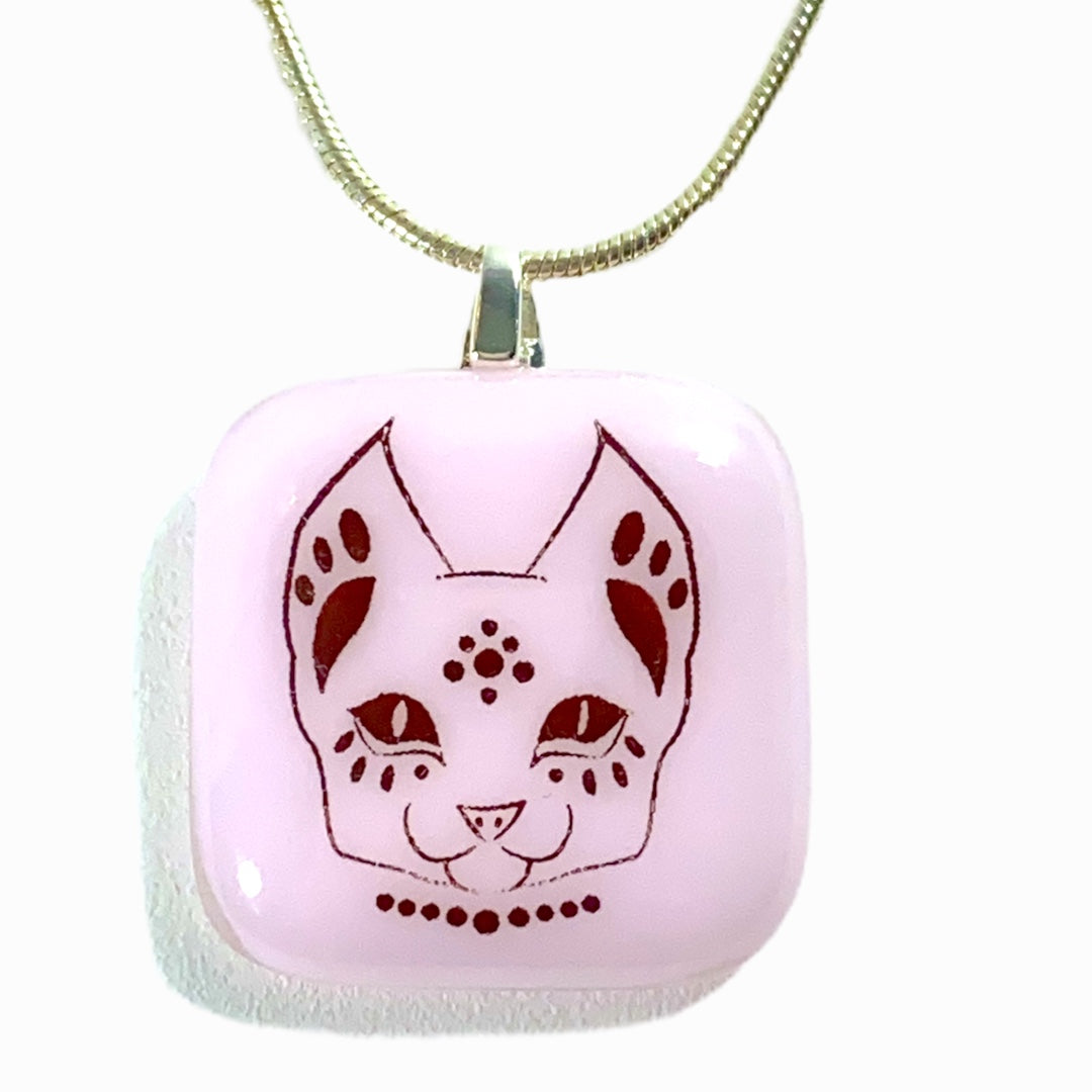 Egyptian Cat Pendant Necklace
