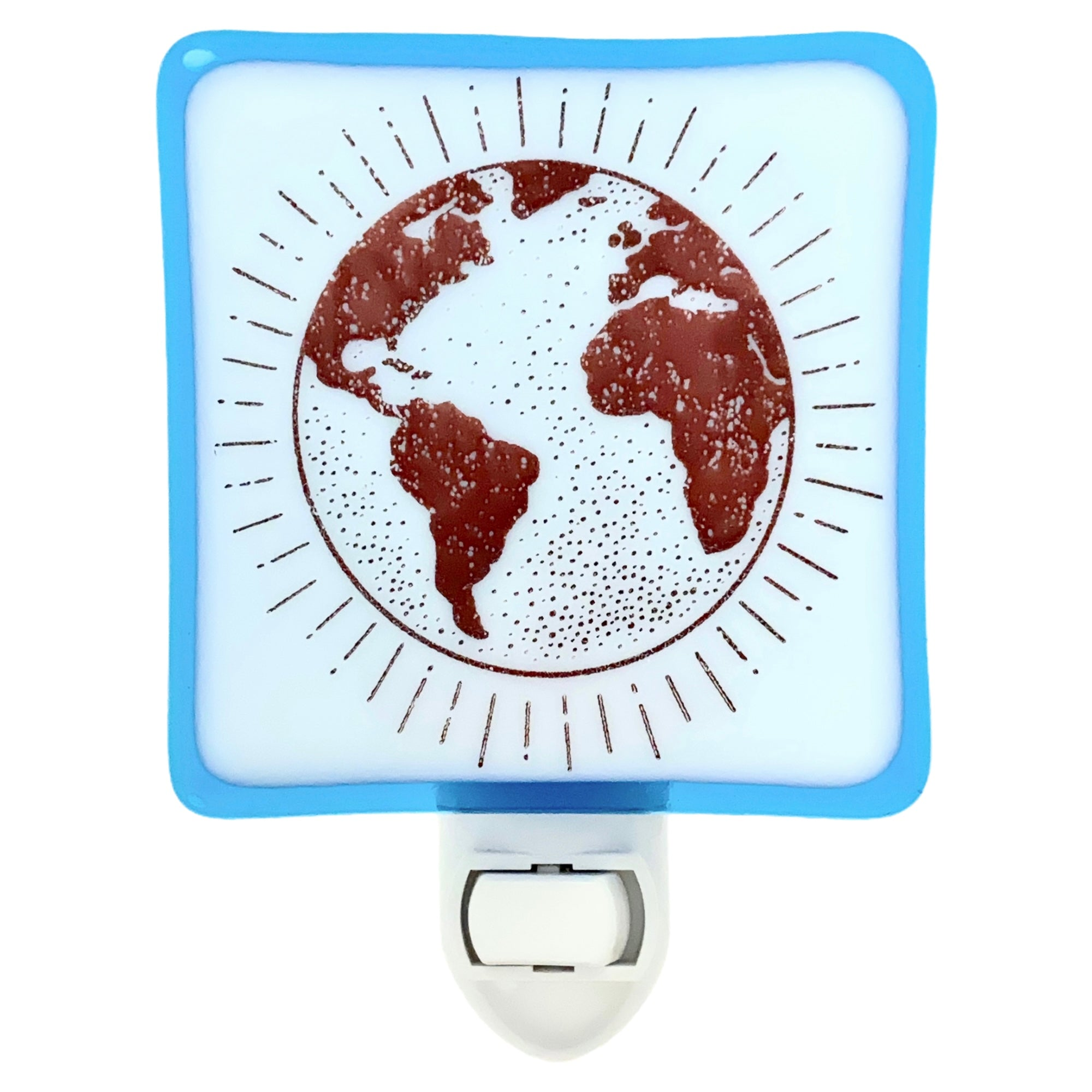 Planet Earth Sketch Night Light