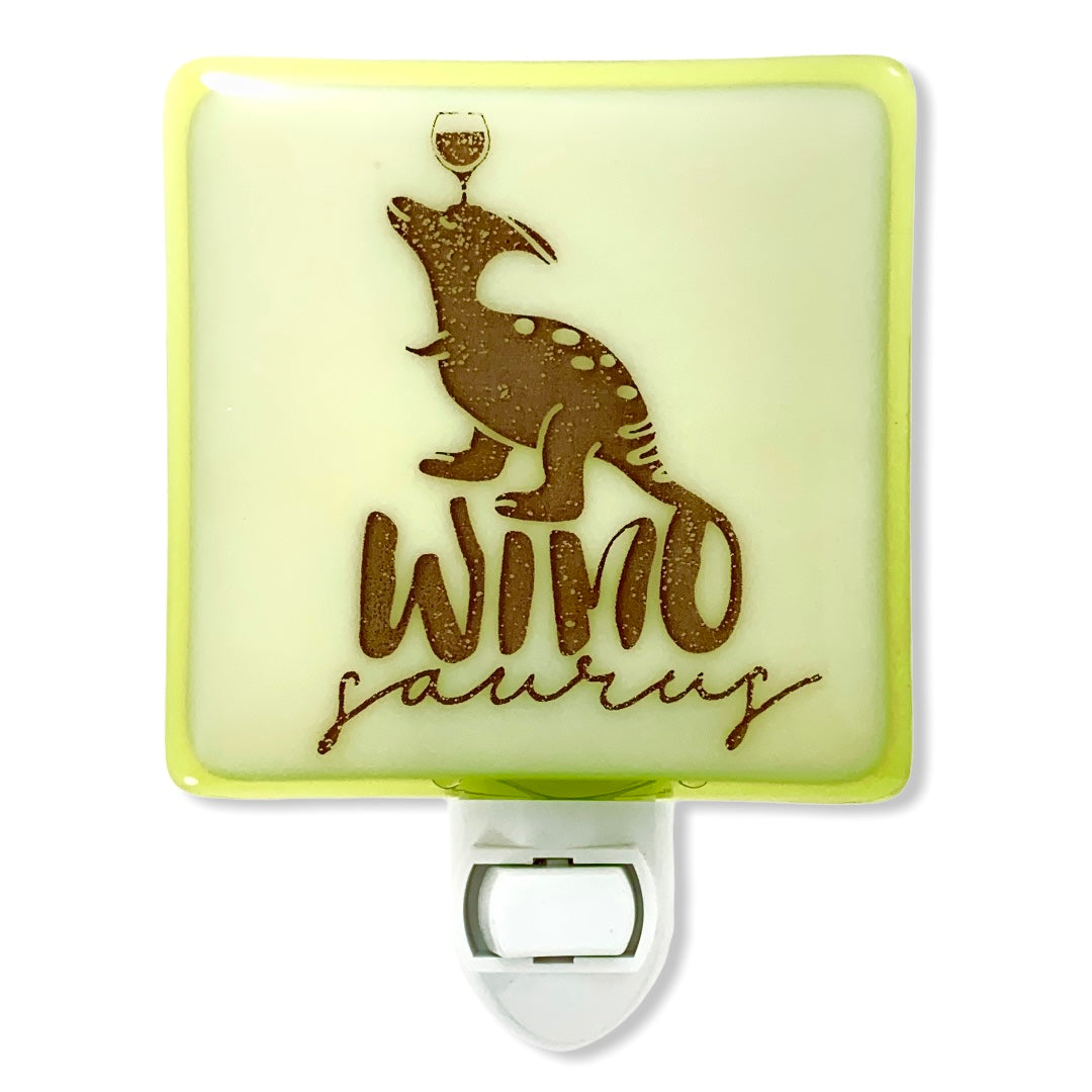 "Wine Lovers ""Winosaurus"" Night Light"