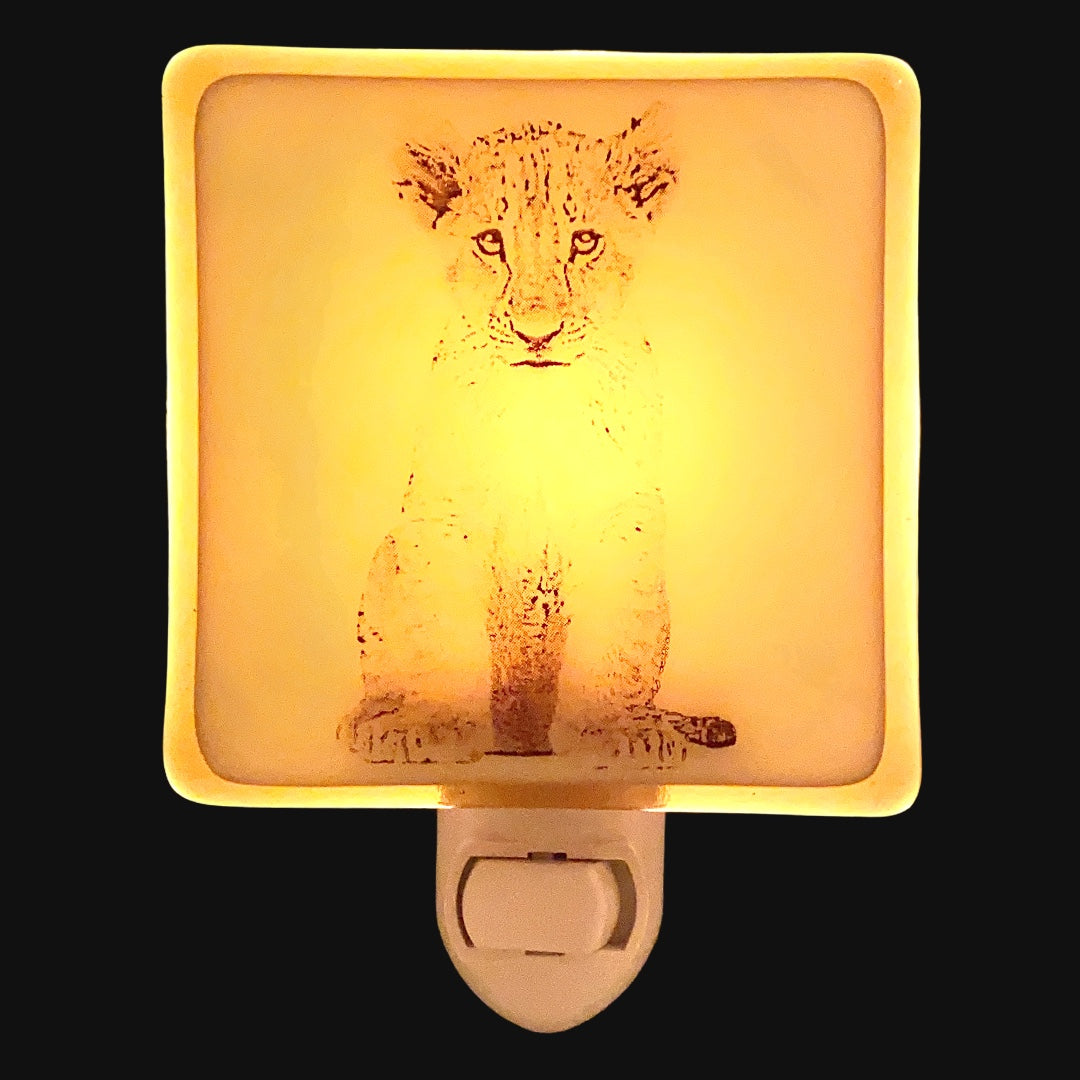 Lion Cub Night Light