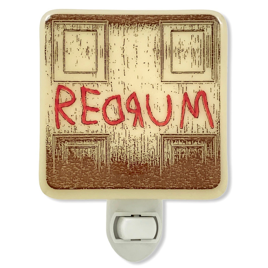 The Shining - REDRUM Night Light - Hand-painted