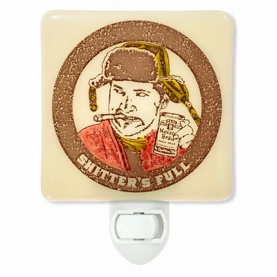 "Christmas Vacation - Cousin Eddie ""Shitter's Full"" Night Light"