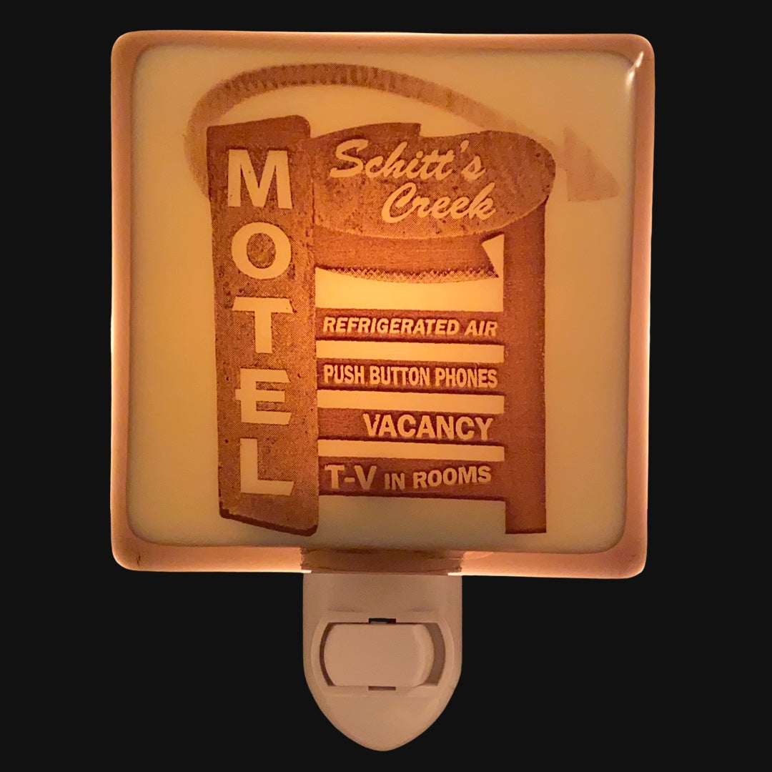 Schitt's Creek Motel Sign Night Light