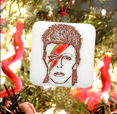 David Bowie Ornament