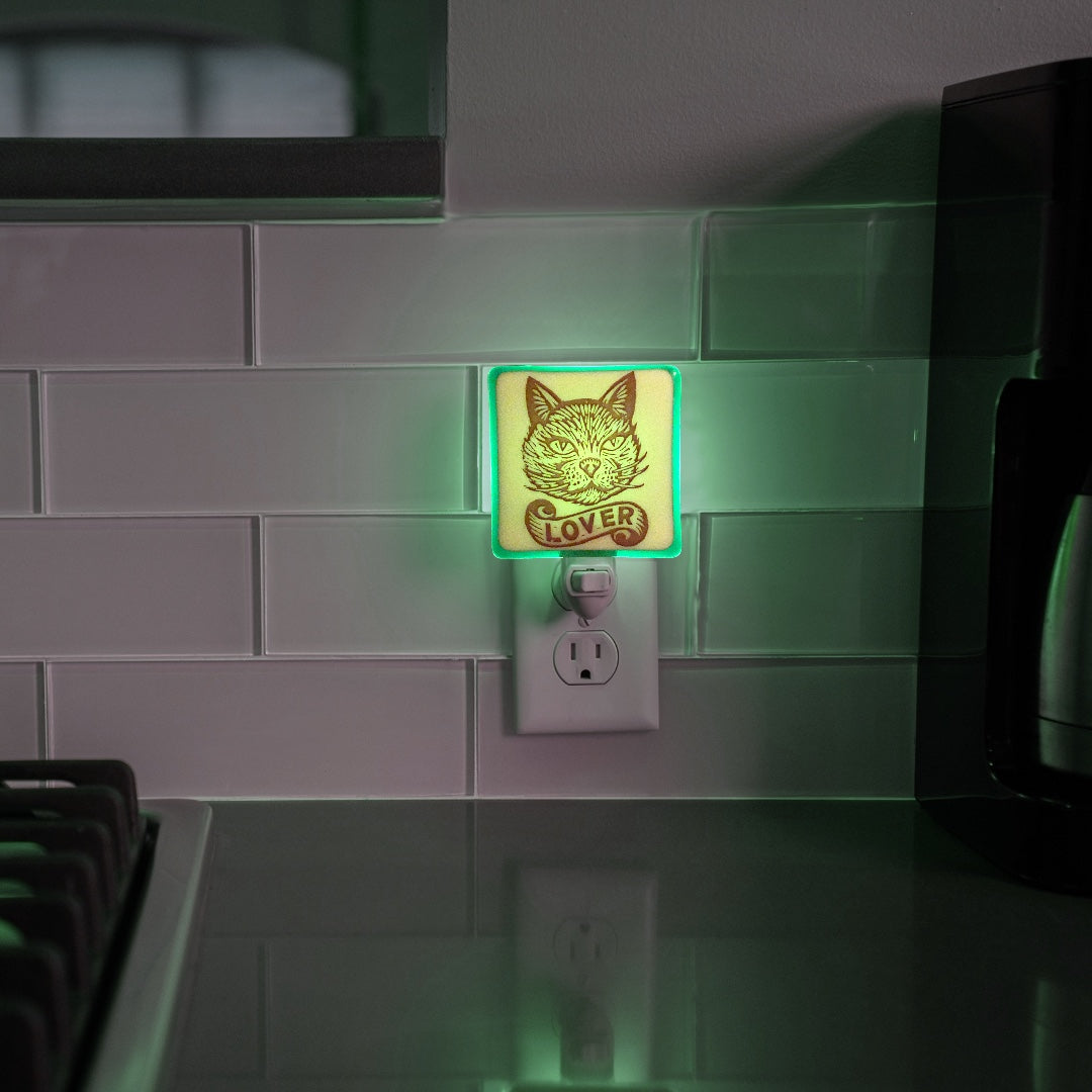 Cat Lover Night Light