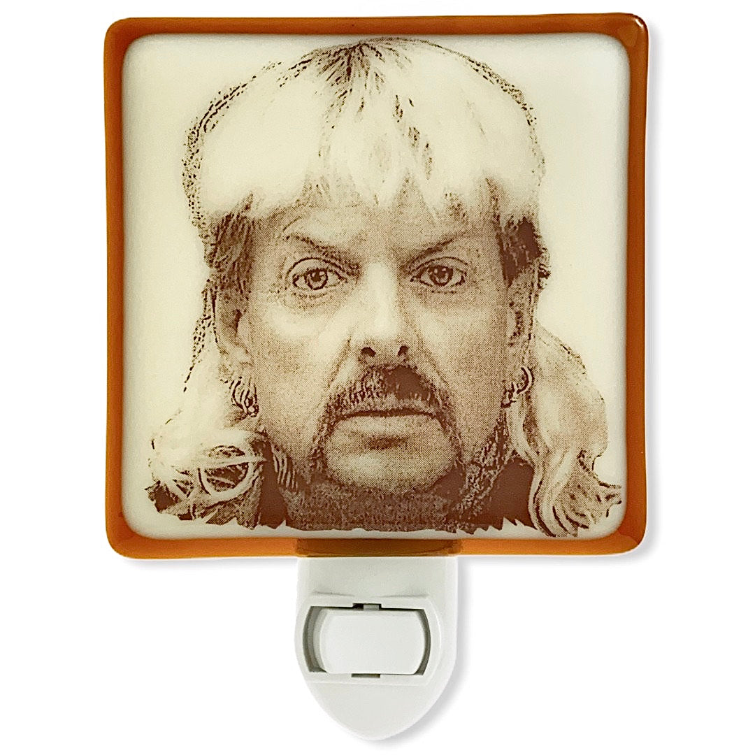 Tiger King Joe Exotic Mug Shot Night Light