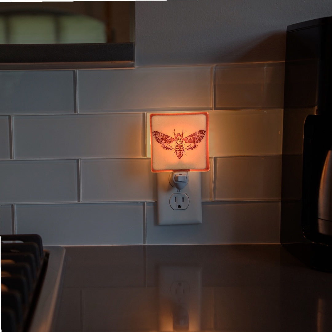 Silence of the Lambs  - Death Head Moth Night Light