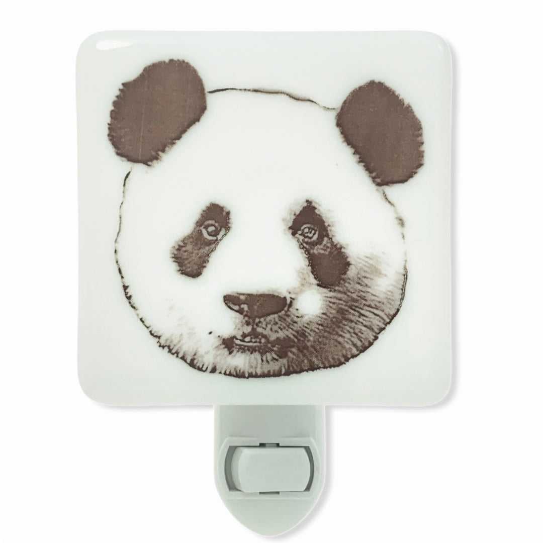 Panda Bear Face Night Light