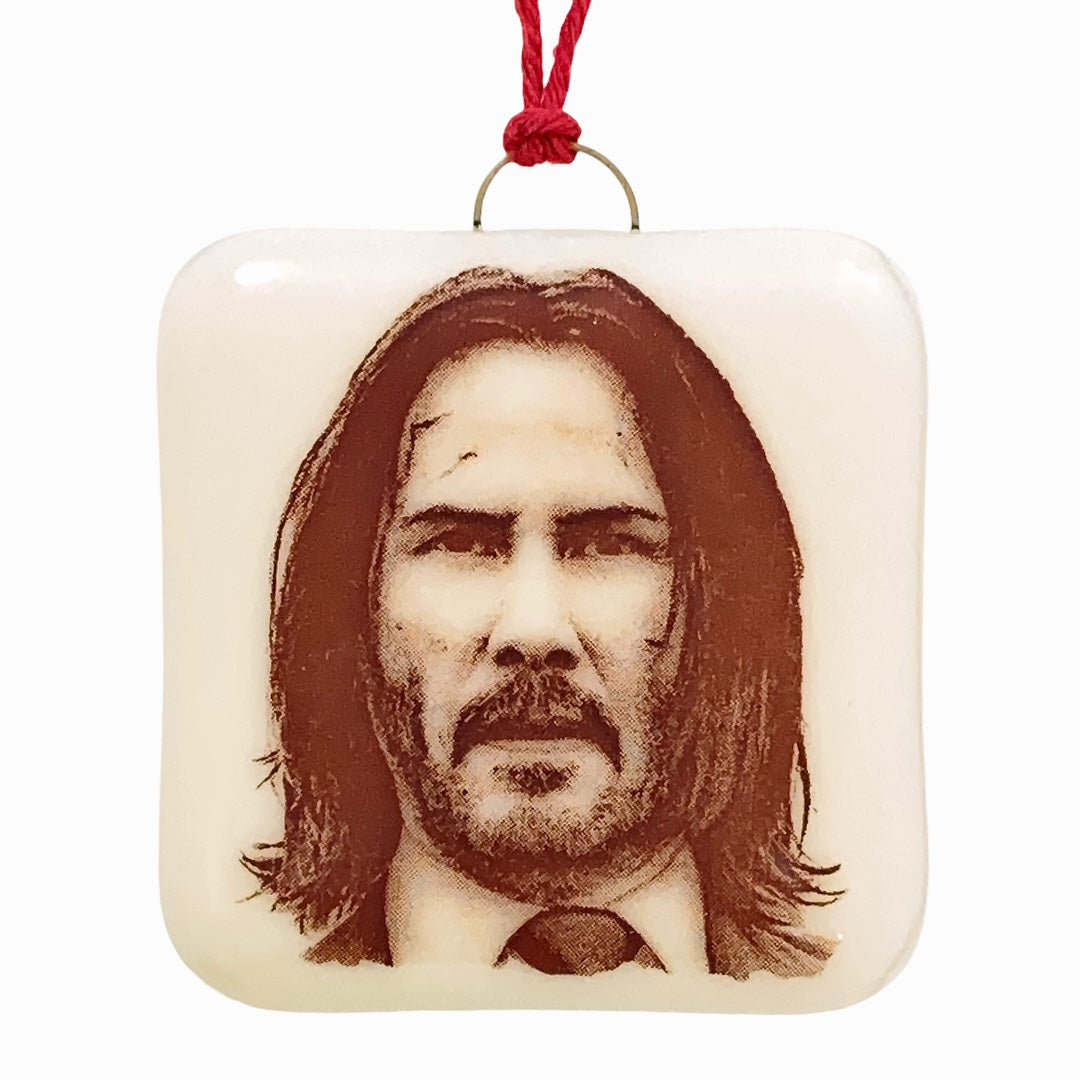 Keanu Reeves - John Wick - Ornament
