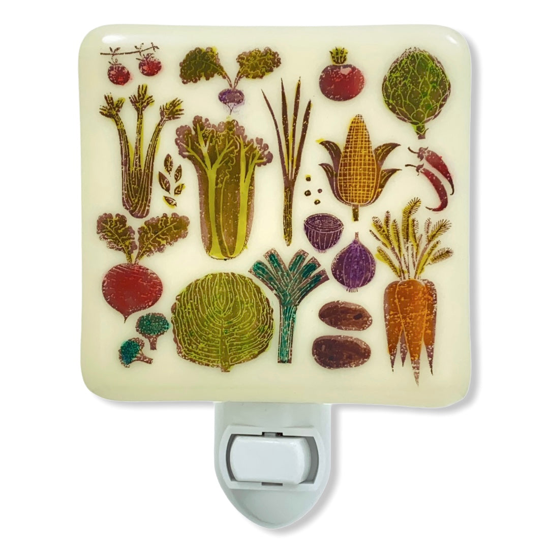 Vegetables Veggies Night Light