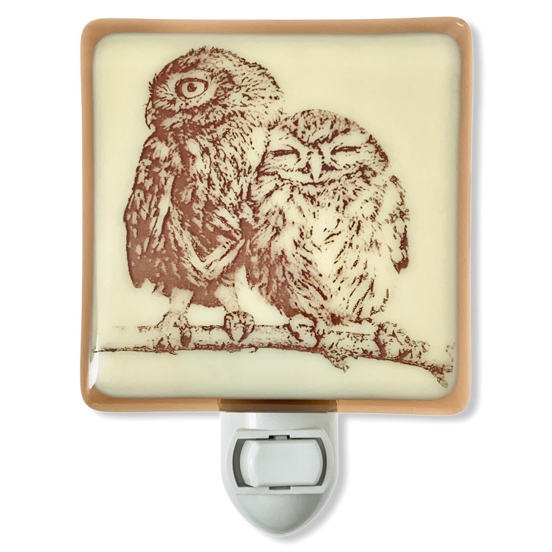 Cuddly Little Owls Night Light