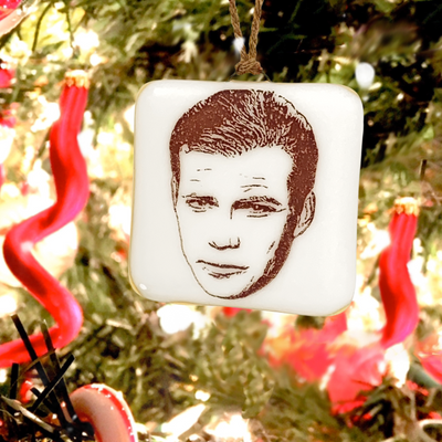 Star Trek - Captain Kirk William Shatner Ornament