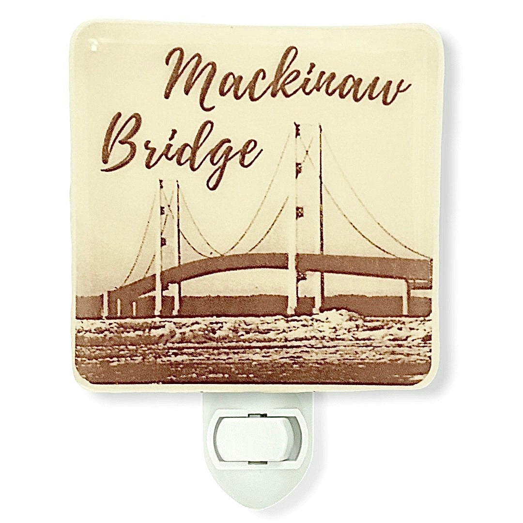 Mackinaw Bridge Michigan Night Light