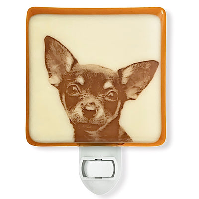 Chihuahua  Face Dog Night Light