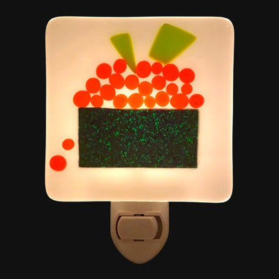 Sushi Fused Glass Night Light Gunkan Maki