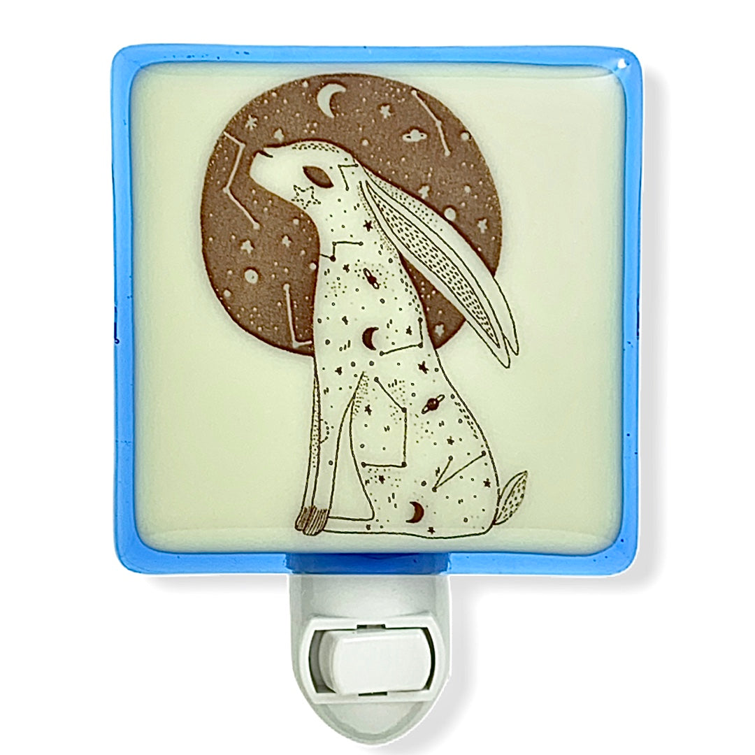 Bunny Rabbit Boho Celestial Night Light
