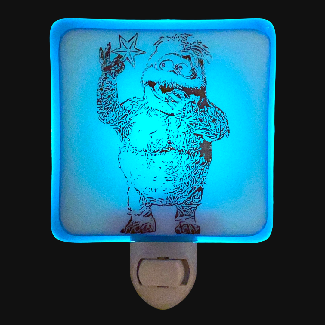Bumble Snow Monster Rudolph the Red Nosed Reindeer Night Light