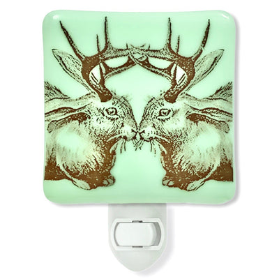 Jackalope Kiss Night Light