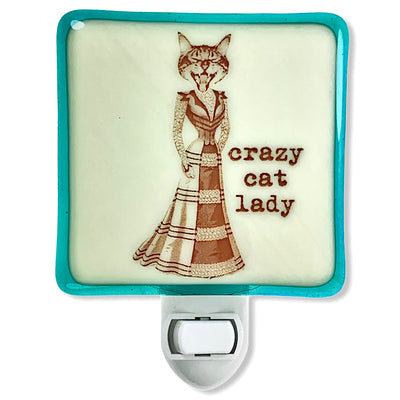 Crazy Cat Lady Night Light