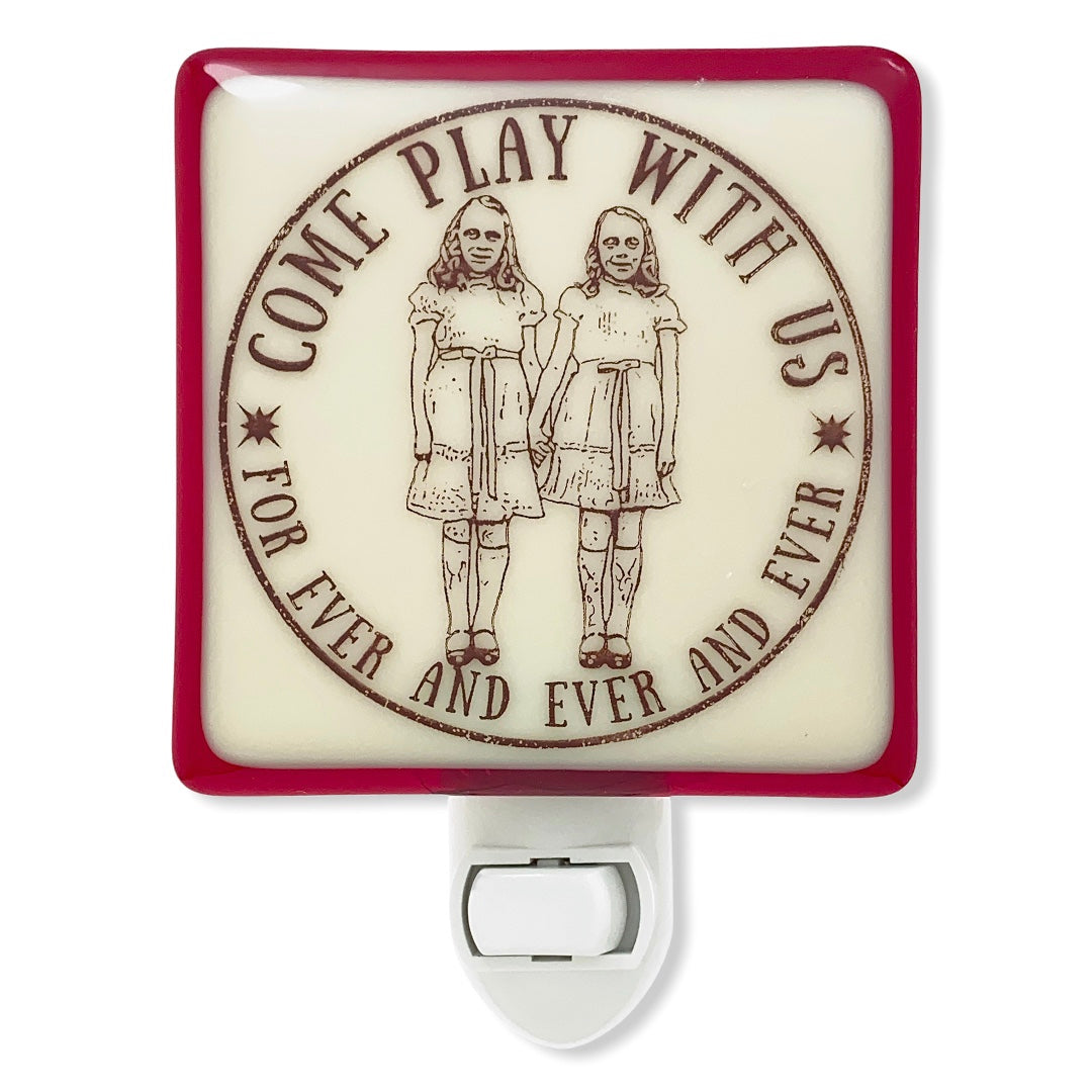 "The Shining - Grady Twins ""Come Play With Us"" Night Light"